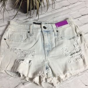 Mossimo High-rise Distressed Shorts